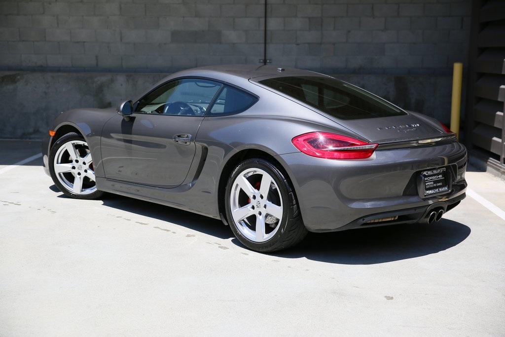 Certified Pre-Owned 2016 Porsche Cayman S