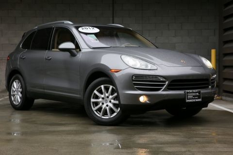 Certified Pre-Owned 2012 Porsche Cayenne Base